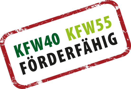 KFW40 / KFW55 förderfähige Häuser