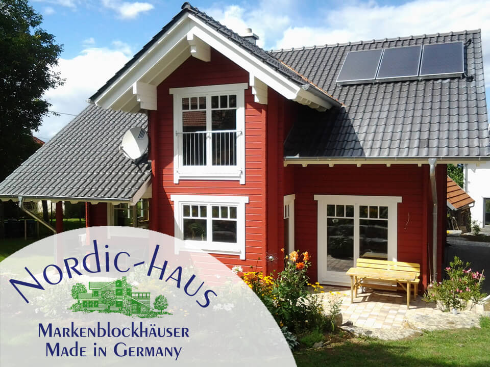 Nordic-Haus Blockhäuser Website